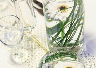 Vase haut idéal pour bougie,  ou fleurs immergé