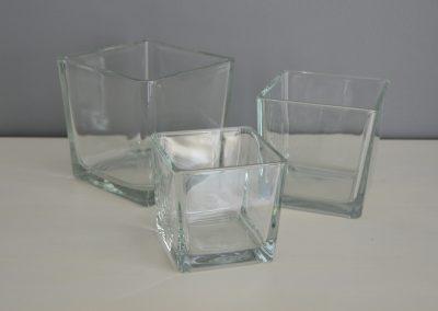 Vase carré : 2€