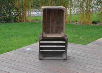 Caisses en bois vintage : 5 €