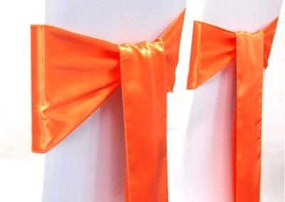 Location nœud satin orange: 0.70€ TTC