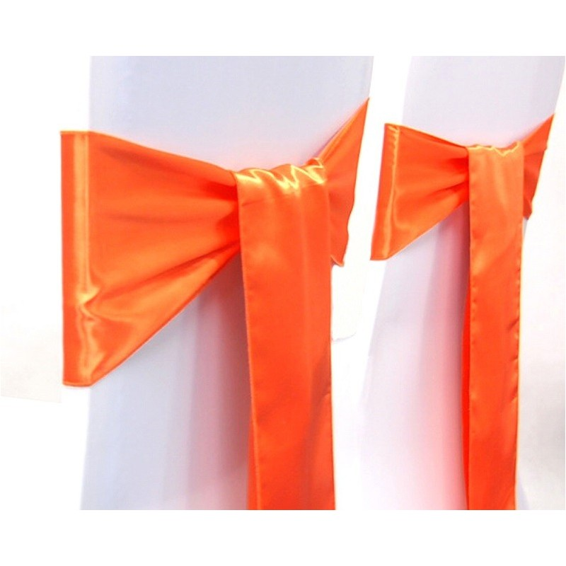Location nœud satin orange: 0.70€ TTC