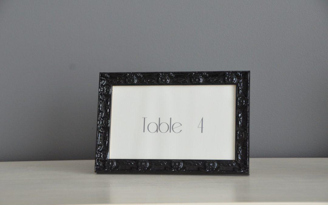 Location cadre noir Baroque : 3€
