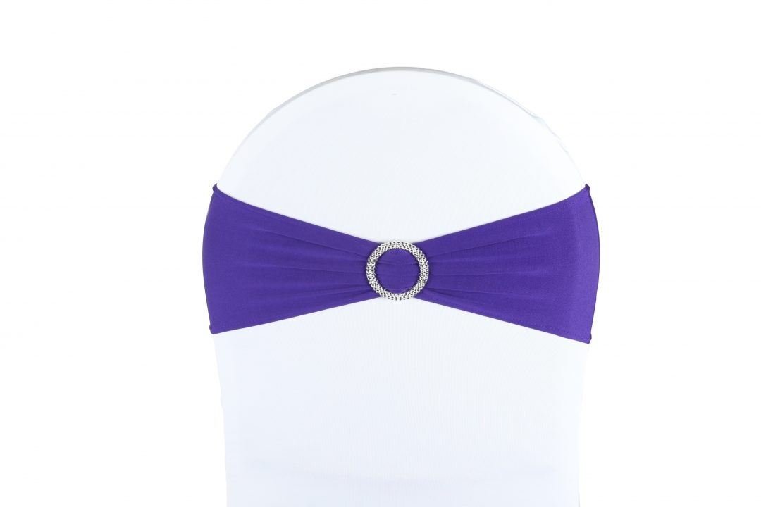 Location nœud bandeau lycra violet: 0.60 €TTC