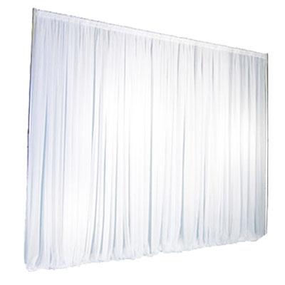 Location structure avec rideau blanc : 70€