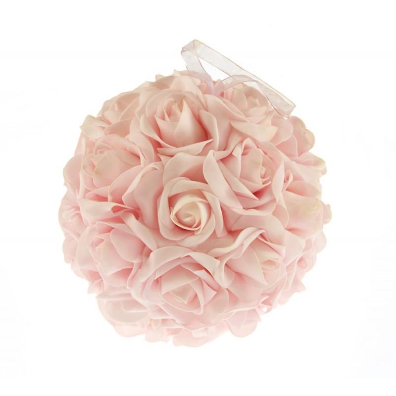 Boule de roses artificiel: 5€