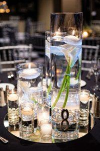Location vase trio cylindrique d coration centre de table - Decoration de vase pour mariage ...