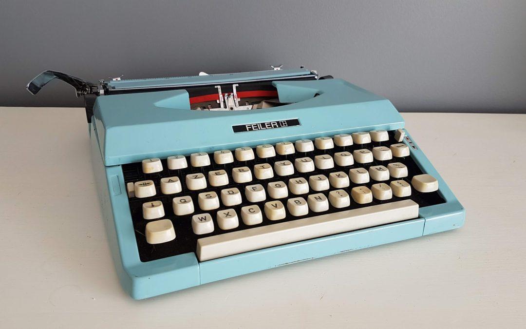 Location machine à écrire vintage: 10 €